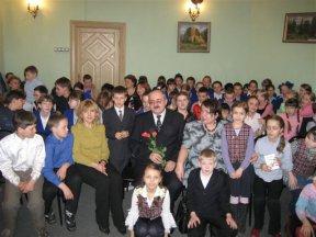 Встреча со школьниками в литературном музее