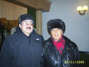 С известным сибирским писателем Романом Солнцевым