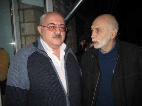 С известным писателем Леонидом Юзефовичем