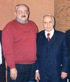 С послом Азербайджана в России Рамизом Ризаевым
