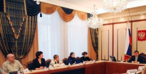 На встрече с зампредом Правительства России А.Г.Хлопониным