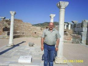 У могилы святого Иоанна - автора Апокалипсиса, окрестности города Сельджук