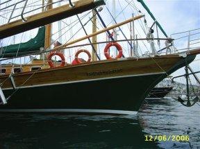 Наш корабль перед отплытием