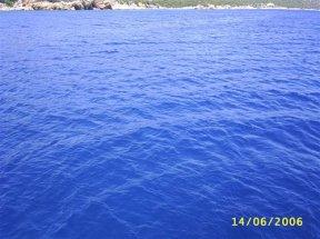 Цвет Эгейского моря