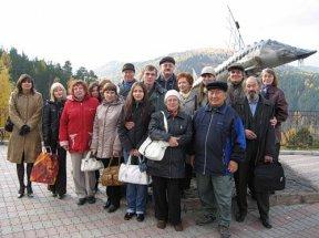 Сибирские поэты возле Царь-рыбы