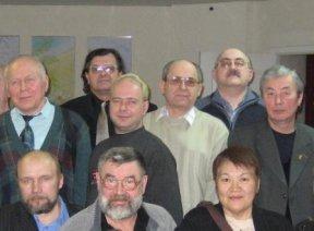 С красноярскими писателями