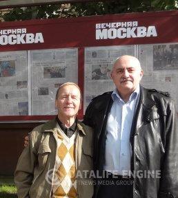 """Выступление Э.Ахадова в телестудии """"Вечерняя Москва"""""""